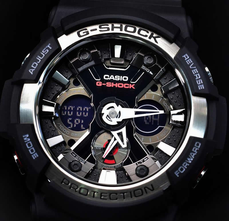Часы casio g shock ga 200