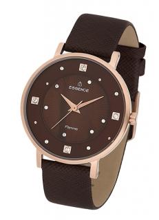 коричневые часы