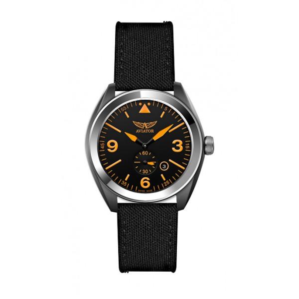 Купить Швейцарские наручные мужские часы Aviator M.1.10.0.028.7. Коллекция Mig-25 Foxbat за 23 000 руб. 5