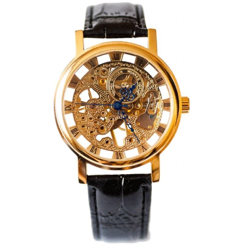 Оригинальный дизайн, высокое качество и прозрачное покрытие, которое обнажает весь рабочий механизм часов, все это сделало winner luxury очень популярными и востребованными, особенно среди молодых людей, которые ценят все необычное.