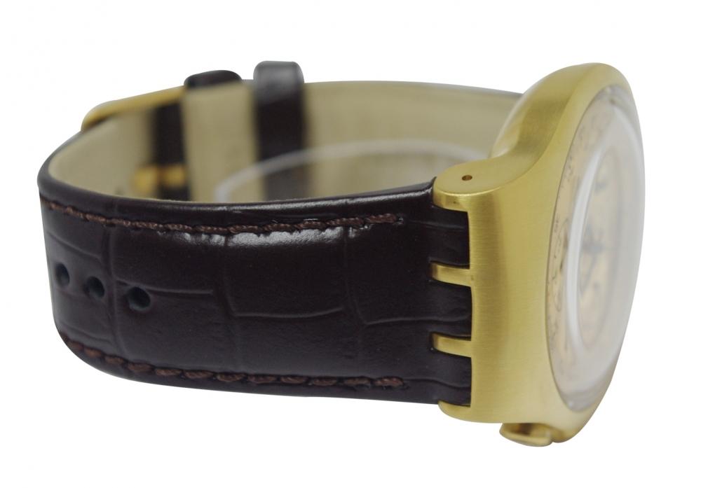 золотой браслет на часы 6 мм