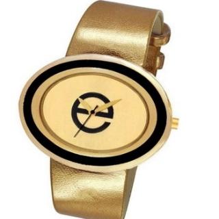 золотистые часы